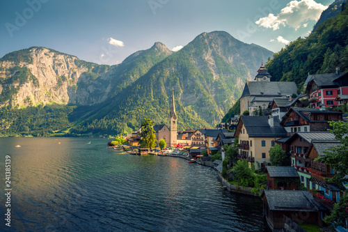 Hallstatt in summer, Austria