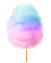 Two-tone Cotton Candy