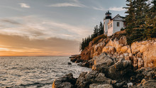 Bass Harbor Head Light,Lighthouse