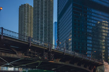 Wabash Avenue Bridge And Moder...