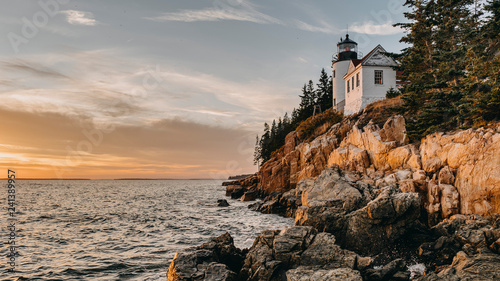 Photo Stands United States Bass Harbor Head Light,Lighthouse