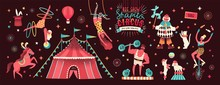 Collection Of Circus Tent And ...