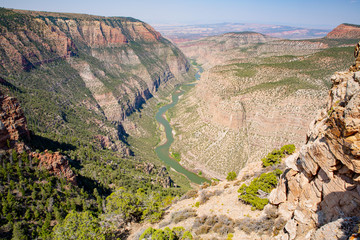 Green River in Dinosaur National Monument, Utah and Colorado, USA