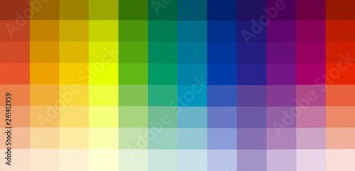 Fotografie, Obraz  bandes chromatiques
