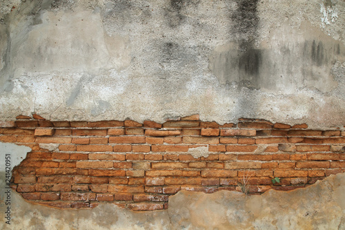 Keuken foto achterwand Graffiti cracked concrete vintage wall background,old wall