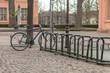 Fahrrad im Fahrradständer