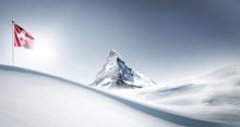 Matterhorn Im Winter