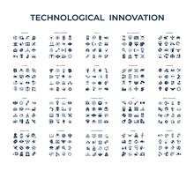 Digital Vector Technology Icons Set