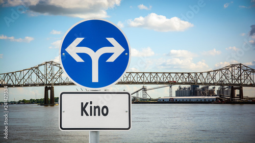 Photo  Schild 360 - Kino