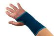 Bandage um verletztes Handgelenk