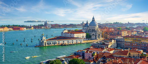 Aluminium Prints Venice Venetian cityscape by day