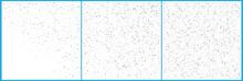 Silver Polka Dot Confetti Celebrations. Simple Festive Modern De
