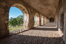 The Ancient Monastery Of Cuilapam In Oaxaca, Mexico