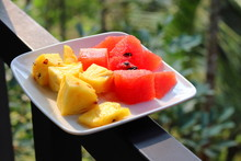 Pineapple And Watermelon Platter -Image