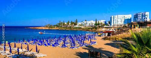 Best beaches of Cyprus island - Fig tree bay in Protaras