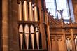 canvas print picture - church organ