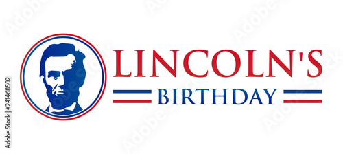 Photo  Lincoln's Birthday Isolated Icon