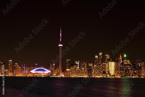 Foto op Canvas Dubai Toronto Skyline