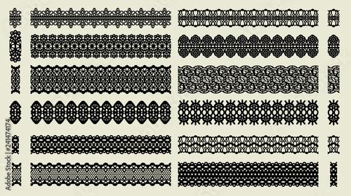 Fényképezés  Set of pattern brushes