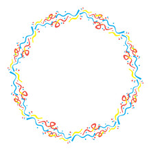 Round Frame With Serpentine An...