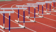 Hurdle Rack, In The Track And Field