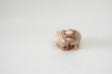 Figurine Lovers Hippo On A Whi...