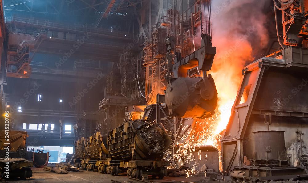 Fototapety, obrazy: steel plant
