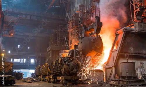 Fotografía  steel plant