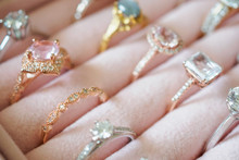 Gold Jewelry Diamond Rings In ...