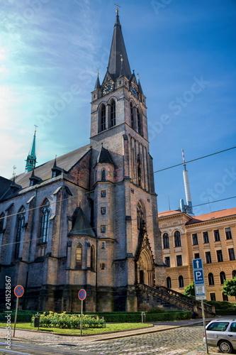 In de dag Centraal Europa Prag, St. Procopius-Kirche