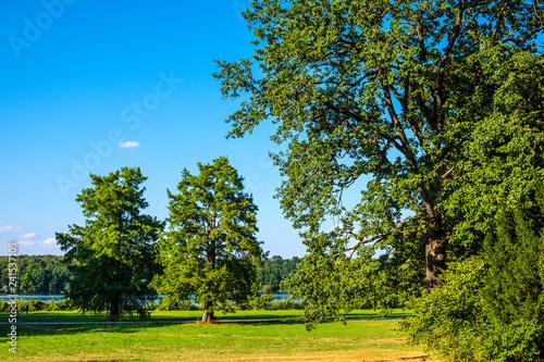 Potsdam Germany Panoramic View Of The New Garden Neues Garten