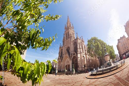 Photo sur Toile Europe Centrale Basilique Saint-Epvre and town square, Nancy
