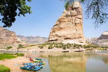 Green River in Dinosaur National Monument, Utah and Colorado, USA