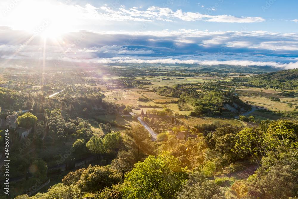 Fototapety, obrazy: ゴルドから平野を見下ろす