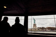 view from the window of the Statue of Liberty