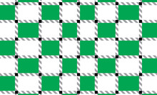 Green And White Checkered Tabl...