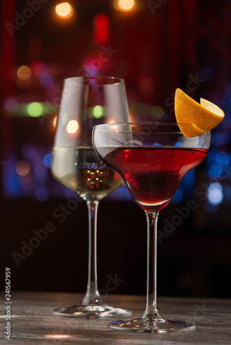 Beverages in nightclub
