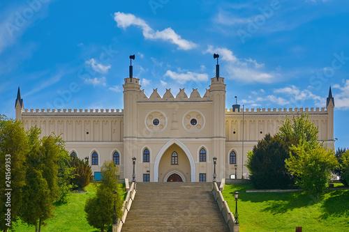 Deurstickers Historisch geb. Main Entrance Gate of Lublin Castle