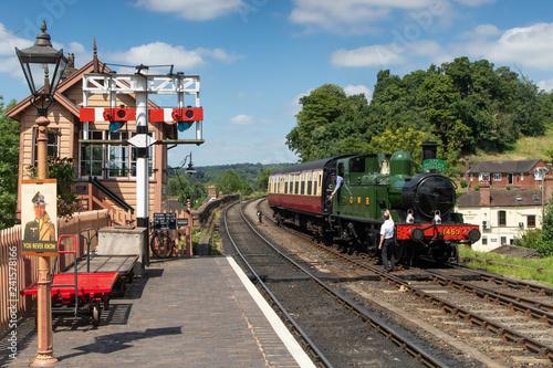 Obraz na płótnie Great Western Railway scene at Bewdley