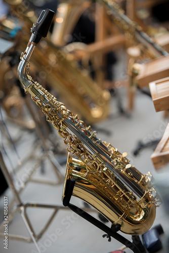 Fotografie, Obraz  Posaune, Blasinstrumente
