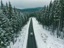 Beautiful View Of Snowed Freew...