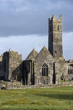 Quin Abbey Ruins, County Clare...