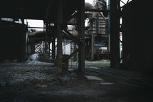Abandoned Steel Works In England