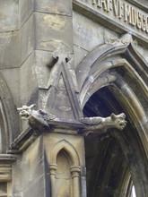 Gargoyles On Bolton Abbay Stru...