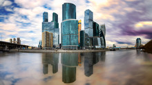 Skyline Of Moscow, Russia During The Day
