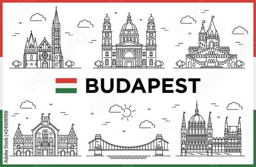 Budapest, Hungary Fototapete