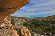 Seminole Canyon In The West Texas Desert