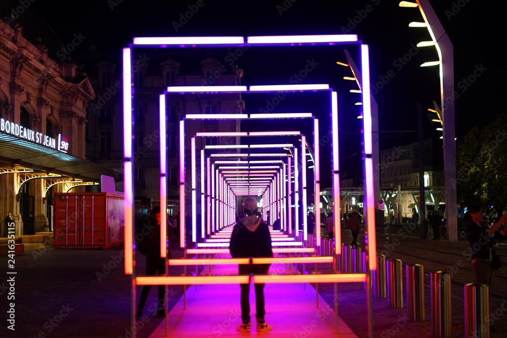 Fototapety, obrazy: lumiere de nuit