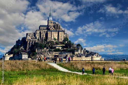 Fotografie, Obraz  Baie du Mont Saint Michel