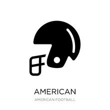 American Football Helmet Icon ...